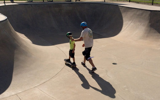 GWL Skatepark, Campaign, Kurk Koziel, Devin, Training