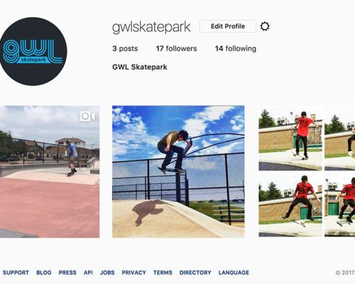 GWL Skatepark, Instagram