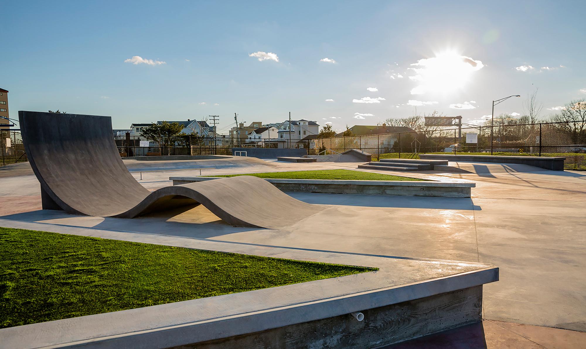 GWL Skatepark - Seven Presidents Skatepark - Longbranch, NJ