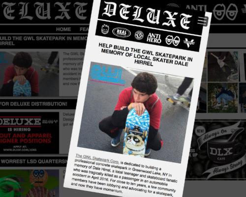 the GWL Skatepark in Memory of Dale Hirrel gets some San Francisco exposure, Deluxe SF