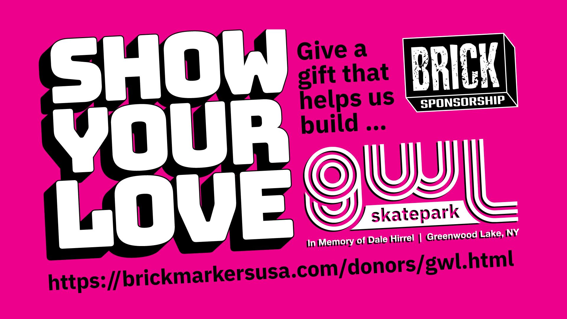GWL Skatepark, Hudson Valley, Greenwood Lake NY, skatepark fundraiser