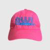GWL Skatepark Corp. fundraiser, Baseball Cap, Pink, Front Embroider